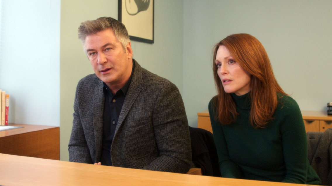 Julianne Moore, Alec Baldwin