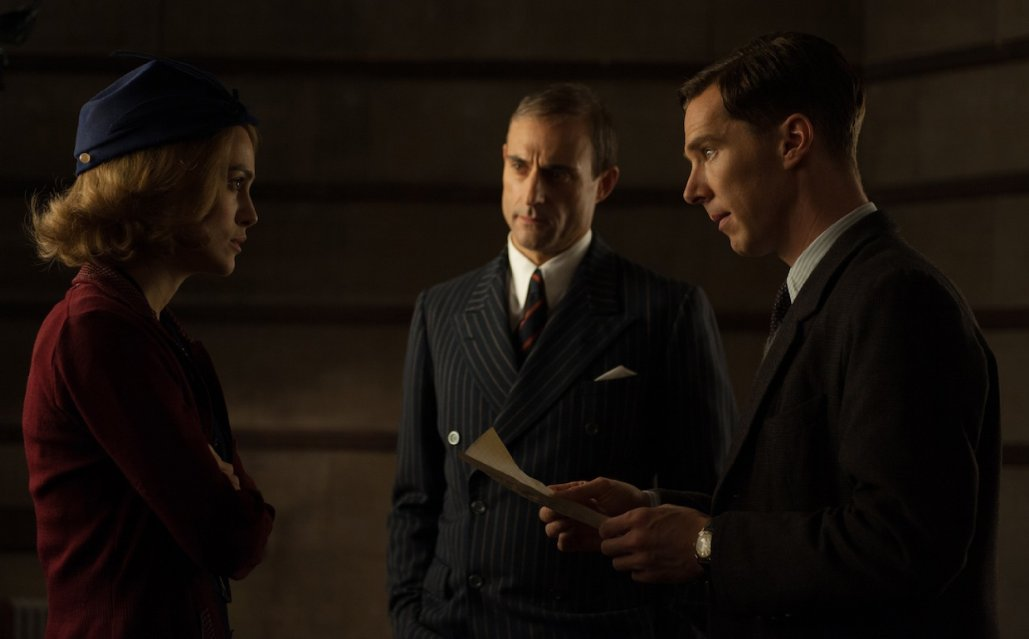 Keira Knightley, Benedict Cumberbatch, Mark Strong