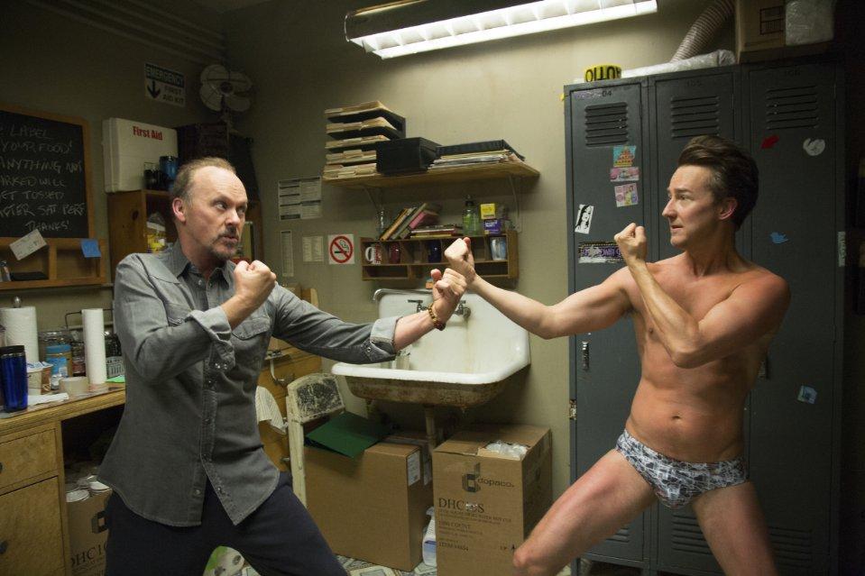 Michael Keaton, Edward Norton