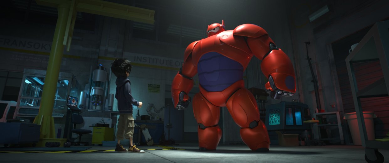 Baymax, Hiro - Big Hero 6