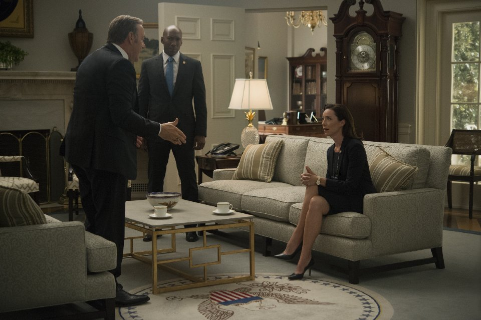 Kevin Spacey, Mahershala Ali, Molly Parker