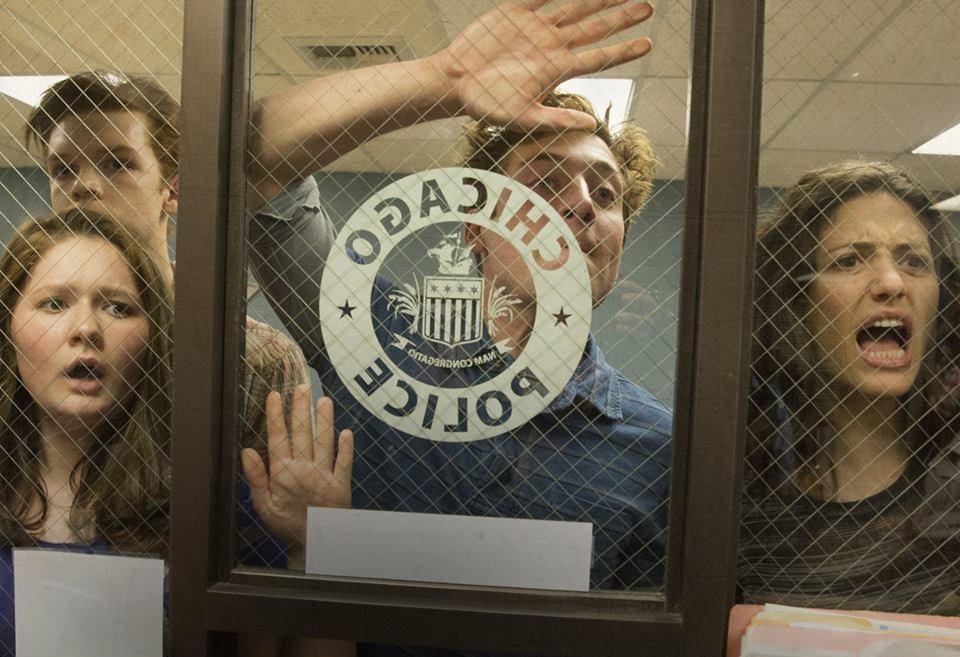 Tabii ki bu sezon da Gallagherları polis karakollarında koştururken gördük...