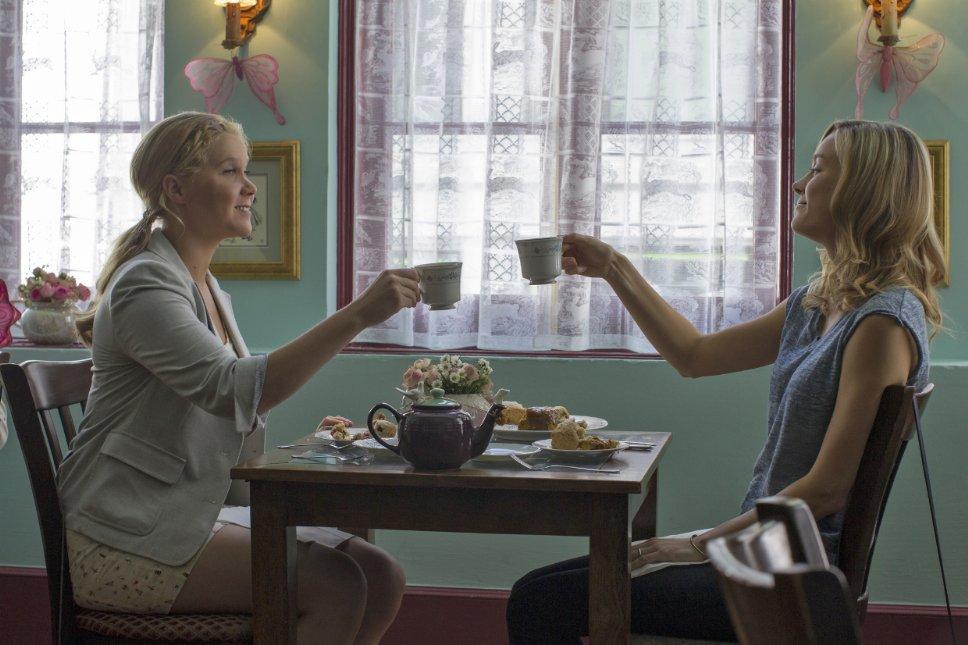 Amy Schumer ve Brie Larson filmde iki kardeşi canlandırıyorlar...