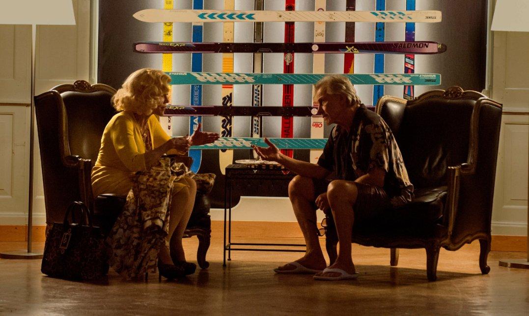Jane Fonda filmde ünlü bir oyuncuyu canlandırıyor...