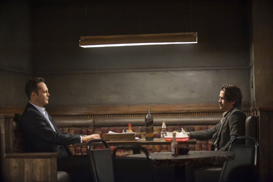 Vince Vaughn dizideki diğer ana karakterlerden birini canlandırdı ama bence katkıdan çok zararı vardı diziye.