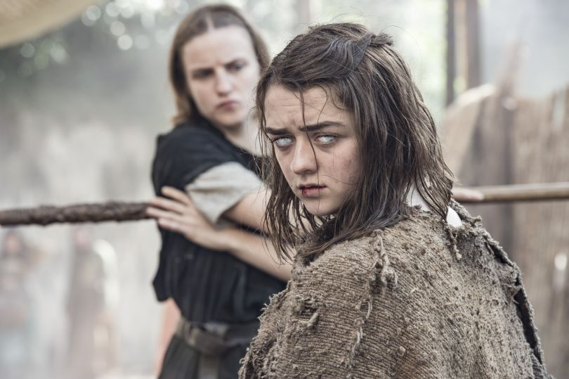 Game of Thrones - 6. Sezon - Maise Williams - Arya
